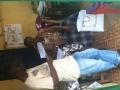 Meeting with Ms Koroma and Mr Kamara (School Secretary & teacher)