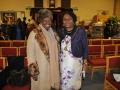Ellen Thomas and Dora Dixon-Fyle (Mayor of Southwark)